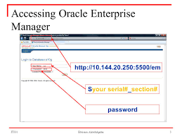 oracle database instance management oracle 10g ebtisam