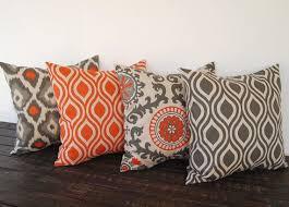 Cushions Covers For Sofa Best 25 Orange Throw Pillows Ideas On Pinterest Orange Pillow