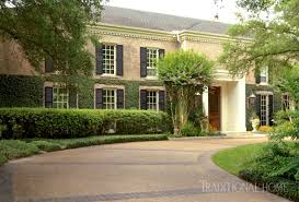 houston home with classic style traditional home