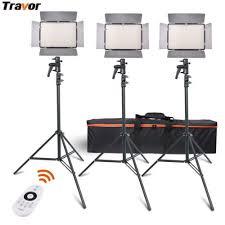 remote audio video lighting 2 4g remote control bi color 600led video light kits panel studio