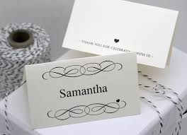 free diy printable place card template and tutorial place card