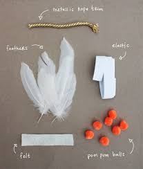 headband supplies kelli murray diy feather headband