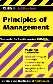 principles of management cliffs quick review