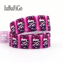 skull ribbon popular pink skull ribbon buy cheap pink skull ribbon lots from
