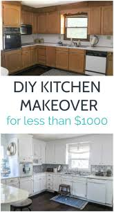farmhouse kitchen cabinet paint colors bright white kitchen makeover on a budget lovely etc