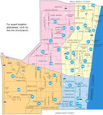 map of county map of broward county library locations