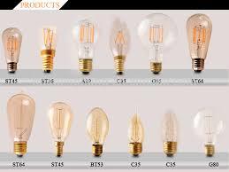 retro led edison bulb 4w led vintage edison filament light bulb