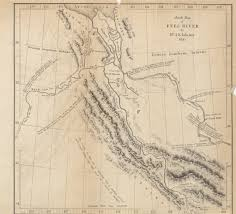 Asia Rivers Map by Maps From The Journal Of The Royal Geographical Society Of London
