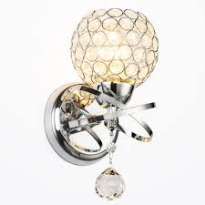 Living Room Sconce Lighting Popular Crystal Sconces Buy Cheap Crystal Sconces Lots From China