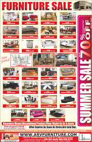 arv furniture flyers written