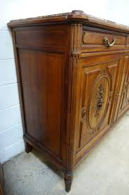 french walnut marble top sideboard french antiques melbourne