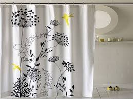 Shower Curtain Ideas Pictures Modern Flower Bathroom Shower Curtains Ideas Cheap Shower
