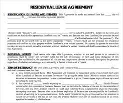 free printable lease agreement apartment sle printable lease agreement exle get residential lease