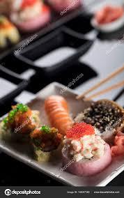 jeu de cuisine sushi jeu de sushi cuisine japonaise photographie zolnierek 164007386