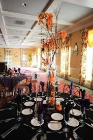Halloween Wedding Table Centerpieces by 160 Best Halloween Wedding Table Decor Images On Pinterest