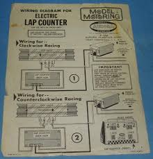 electric counter slotcar track wiring diagrammister coneyitem