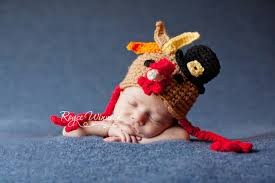baby thanksgiving hat thanksgiving turkey hat baby crocheted photography prop