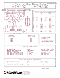 datasheet mth800 mth200 phase full wave bridge pdf wiring