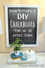 Cheap Shabby Chic Photo Frames by Best 20 Chalkboard Picture Frames Ideas On Pinterest Country