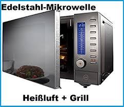 designer mikrowelle 4 in 1 edelstahl designer mikrowelle heissluft grill 10