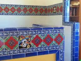 how to design a romantic mexican tile bathtub surround mexican