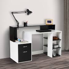 Desk For Laptop And Printer by Tables Wooden Computer Desk Basic Home Office Table Workstation