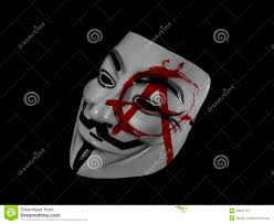 V For Vendetta Mask Anonymous Anarchy Guy Fawkes Editorial Photography Image 48847107