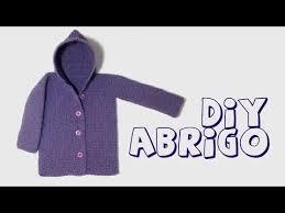 sueter tejido a dos agujas youtube saco con capucha para bebe de 6 a 9 meses tejido en dos agujas o