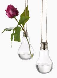 floral supplies glass light bulb hanging vases on jute cord light bulb floral