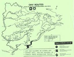 Great Basin National Park Map Mi Wok Ohv Trail Map Merced Ca U2022 Mappery