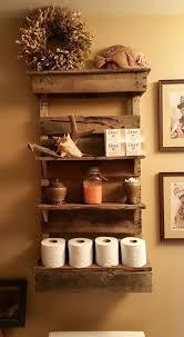 Wood Bathroom Shelves by Diy 15 Chunky Wooden Floating Shelves Toilet Shelves Shelves