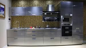 cuisine design de luxe cuisine equipee grise laquee newsindo co
