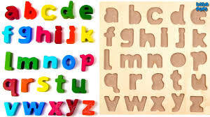 learn alphabets learn the alphabet with food abc puzzle learn a to