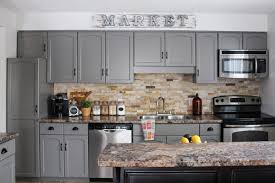 Painted Gray Kitchen Cabinets Our Kitchen Cabinet Makeover Kassandra Dekoning