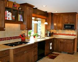 kitchen backsplash accent tile love the red tile backsplash accent kitchens pinterest red