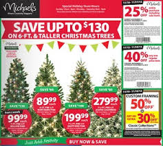 home depot christmas trees on black friday 2017 michaels black friday 2017 deals u0026 sale ad