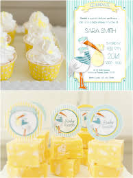 stork baby shower stork themed baby shower brunch diy party ideas party ideas
