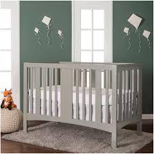 Modern Convertible Cribs by Dream On Me Havana 5 In 1 Convertible Crib Gray Walmart Com