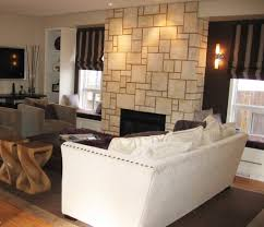 living room lovable living room wall decor cream wall with glass lovable living room wall decor cream wall with glass windows having brown cream stripped curtains