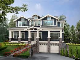 View Lot House Plans Plan 23160jd Perfect Home For Sloped View Lot 2nd Floor House