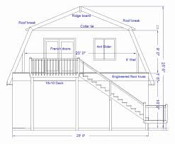 gambrel house plans uncategorized 12x16 gambrel roof shed plan distinctive for