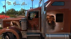 w900 the bears den khross custom skin u2013 kenworth w900 american truck