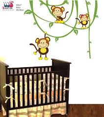 Monkey Nursery Wall Decals Baby Wall Stickers Monkey Sticker Baby Monkeys Baby Baby Groot