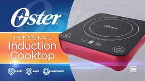 Compact Induction Cooktop Oster Personal Induction Cooktop 1 0 Ct Walmart Com