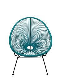 Acapulco Outdoor Chair Replica Acapulco Lounge Chair Aqua