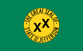 Ca State Flag Jefferson Proposed Pacific State Wikipedia