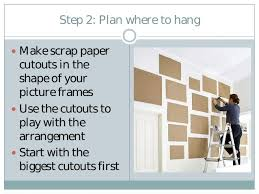 how to hang a picture frame how to create a picture frame gallery wall in 4 steps