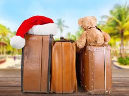 family travel during the holidays rattles heels