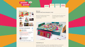 merry go round board game on behance