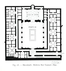 marrakech ben yusuf madrasa 1565 islamic architecture ii